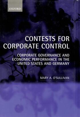 O'Sullivan   Contests for Corporate Control   Buch   sack.de