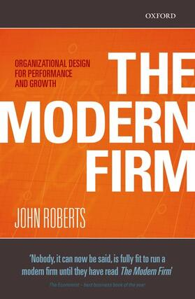 Roberts | The Modern Firm | Buch | sack.de
