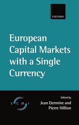 Dermine / Hillion | European Capital Market with a Single Currency | Buch | sack.de