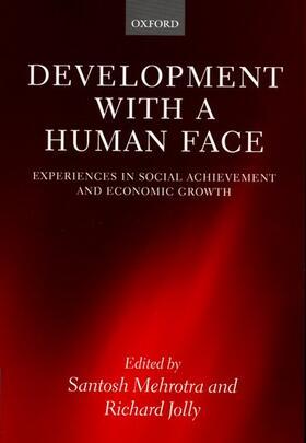 Jolly / Mehrotra | Development with a Human Face | Buch | sack.de