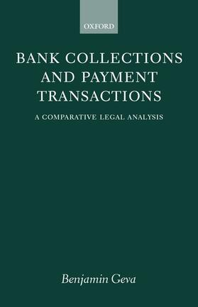 Geva | Bank Collections and Payment Transactions | Buch | sack.de
