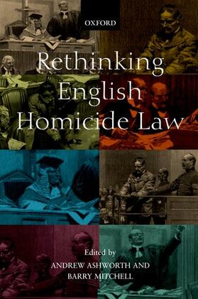 Mitchell / Ashworth | Rethinking English Homicide Law | Buch | sack.de