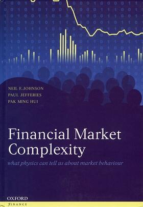 Johnson / Jefferies / Hui | Financial Market Complexity: What Physics Can Tell Us about Market Behaviour | Buch | sack.de