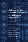Drummond / Sculpher / Torrance |  Methods for the Economic Evaluation of Health Care Programmes | Buch |  Sack Fachmedien