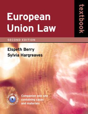 Deards | European Union Law Textbook | Buch | Sack Fachmedien