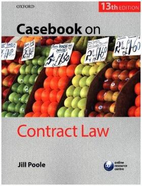 Poole | Casebook on Contract Law | Buch | sack.de