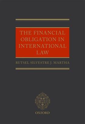 Martha | The Financial Obligation in International Law | Buch | sack.de