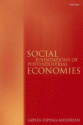 Esping-Andersen | Social Foundations of Postindustrial Economies | Buch | sack.de