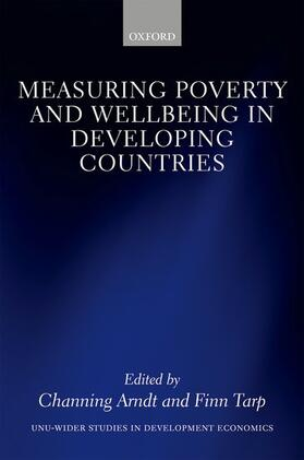 Arndt / Tarp | Measuring Poverty and Wellbeing in Developing Countries | Buch | sack.de