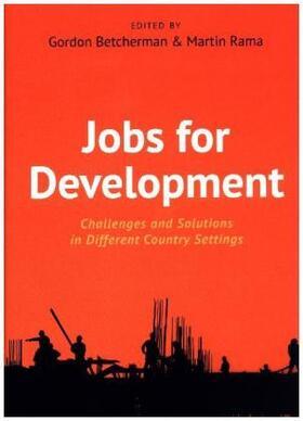 Betcherman / Rama   Jobs For Development   Buch   sack.de