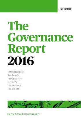 The Hertie School of Governance | The Governance Report 2016 | Buch | sack.de