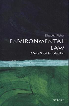 Fisher   Environmental Law: A Very Short Introduction   Buch   sack.de