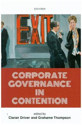 Driver / Thompson | Corporate Governance in Contention | Buch | sack.de