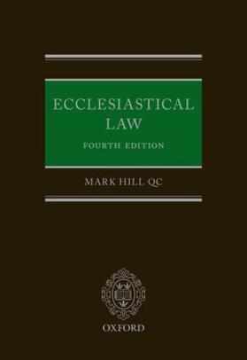 Hill QC | Ecclesiastical Law | Buch | sack.de
