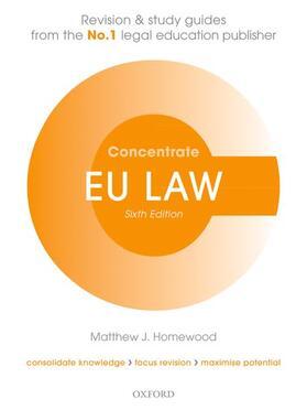 Homewood | EU Law Concentrate | Buch | sack.de