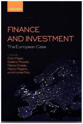Mayer / Micossi / Onado | Finance and Investment: The European Case | Buch | sack.de
