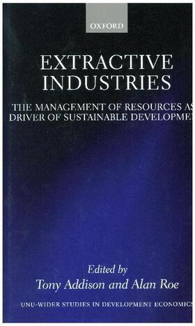 Addison / Roe   Extractive Industries   Buch   sack.de