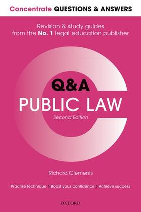 Clements | Concentrate Questions and Answers Public Law | Buch | sack.de