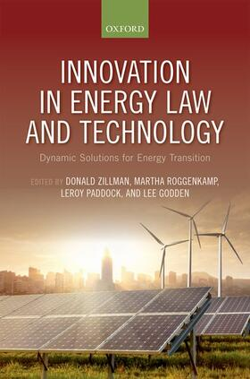 Zillman / Godden / Paddock | Innovation in Energy Law and Technology | Buch | sack.de