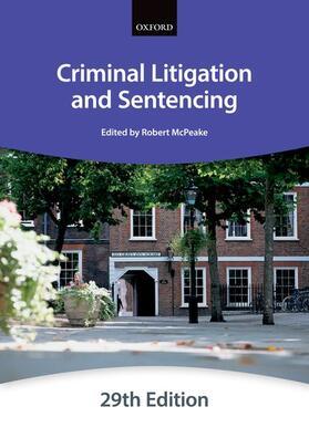 The City Law School   Criminal Litigation and Sentencing   Buch   sack.de