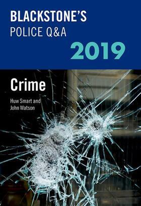 Watson / Smart | Blackstone's Police Q&A 2019 Volume 1: Crime | Buch | sack.de