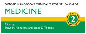 Monaghan / Thomas | Oxford Handbooks Clinical Tutor Study Cards: Medicine | Sonstiges | sack.de