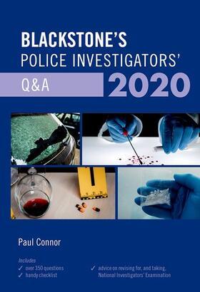 Connor   Blackstone's Police Investigators' Q&A 2020   Buch   sack.de
