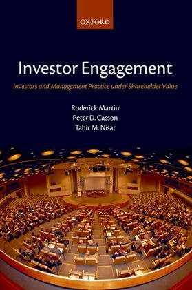 Martin / Casson / Nisar | Investor Engagement: Investors and Management Practice Under Shareholder Value | Buch | sack.de