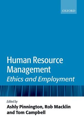Pinnington / Macklin / Campbell   Human Resource Management   Buch   sack.de