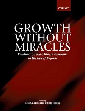 Garnaut / Huang | Growth without Miracles | Buch | sack.de
