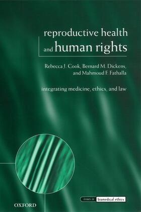 Cook / Dickens / Fathalla | Reproductive Health and Human Rights | Buch | sack.de