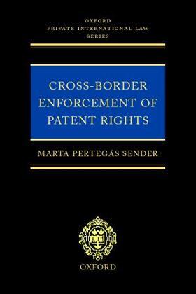 Pertegás Sender | Cross-border Enforcement of Patent Rights | Buch | sack.de