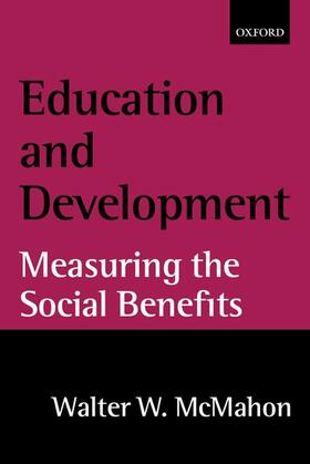 McMahon   Education and Development   Buch   Sack Fachmedien