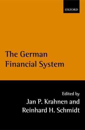 Schmidt / Krahnen | The German Financial System | Buch | sack.de