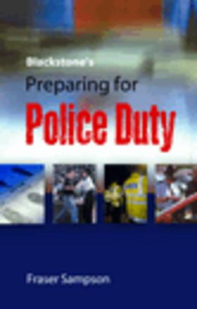 Sampson   Blackstone's Preparing for Police Duty   Buch   Sack Fachmedien