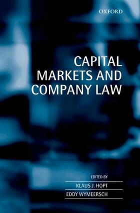 Hopt / Wymeersch | Capital Markets and Company Law | Buch | sack.de