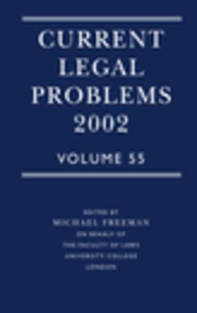 Freeman | Current Legal Problems | Buch | sack.de