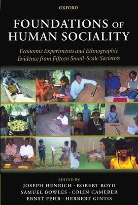 Fehr / Gintis / Henrich | Foundations of Human Sociality | Buch | sack.de