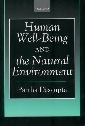 Dasgupta   Human Well-Being and the Natural Environment   Buch   sack.de