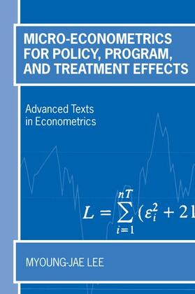 Lee | Micro-Econometrics for Policy, Program and Treatment Effects | Buch | sack.de