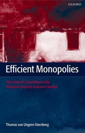 von Ungern-Sternberg | Efficient Monopolies | Buch | sack.de