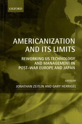Herrigel / Zeitlin   Americanization and Its Limits   Buch   sack.de