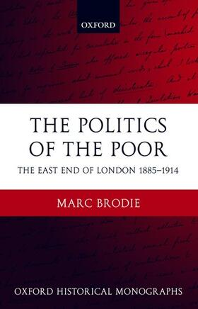 Brodie   The Politics of the Poor   Buch   sack.de