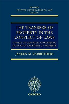 Carruthers | The Transfer of Property in the Conflict of Laws | Buch | sack.de