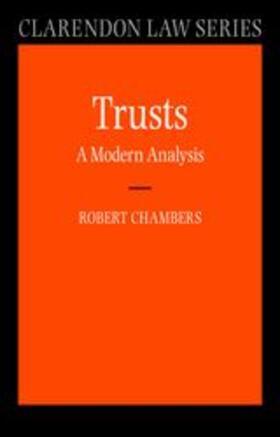 Trusts: A Modern Analysis | Buch | sack.de