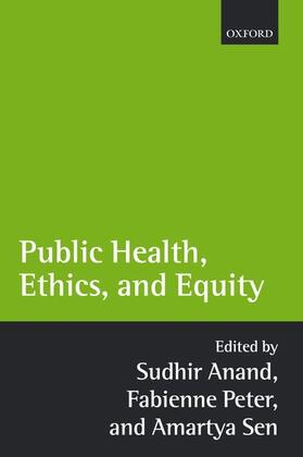 Anand / Peter / Sen | Public Health, Ethics, and Equity | Buch | sack.de