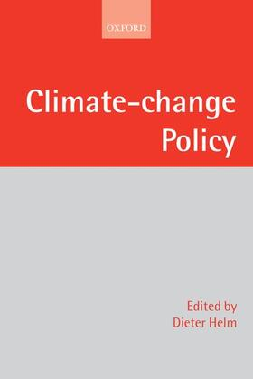 Helm | Climate-Change Policy | Buch | sack.de