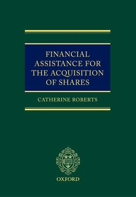 Roberts   Financial Assistance for the Acquisition of Shares   Buch   sack.de