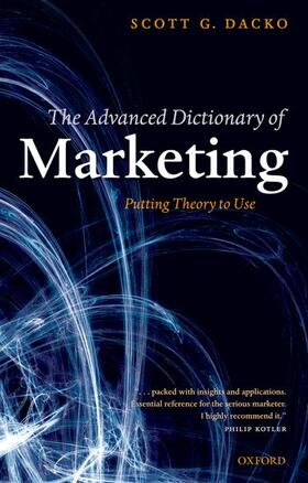 Dacko | The Advanced Dictionary of Marketing | Buch | sack.de