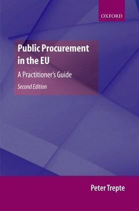 Trepte   Public Procurement in the EU   Buch   sack.de
